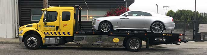 Rolls Royce towing service | San Francisco Bay Area Towing