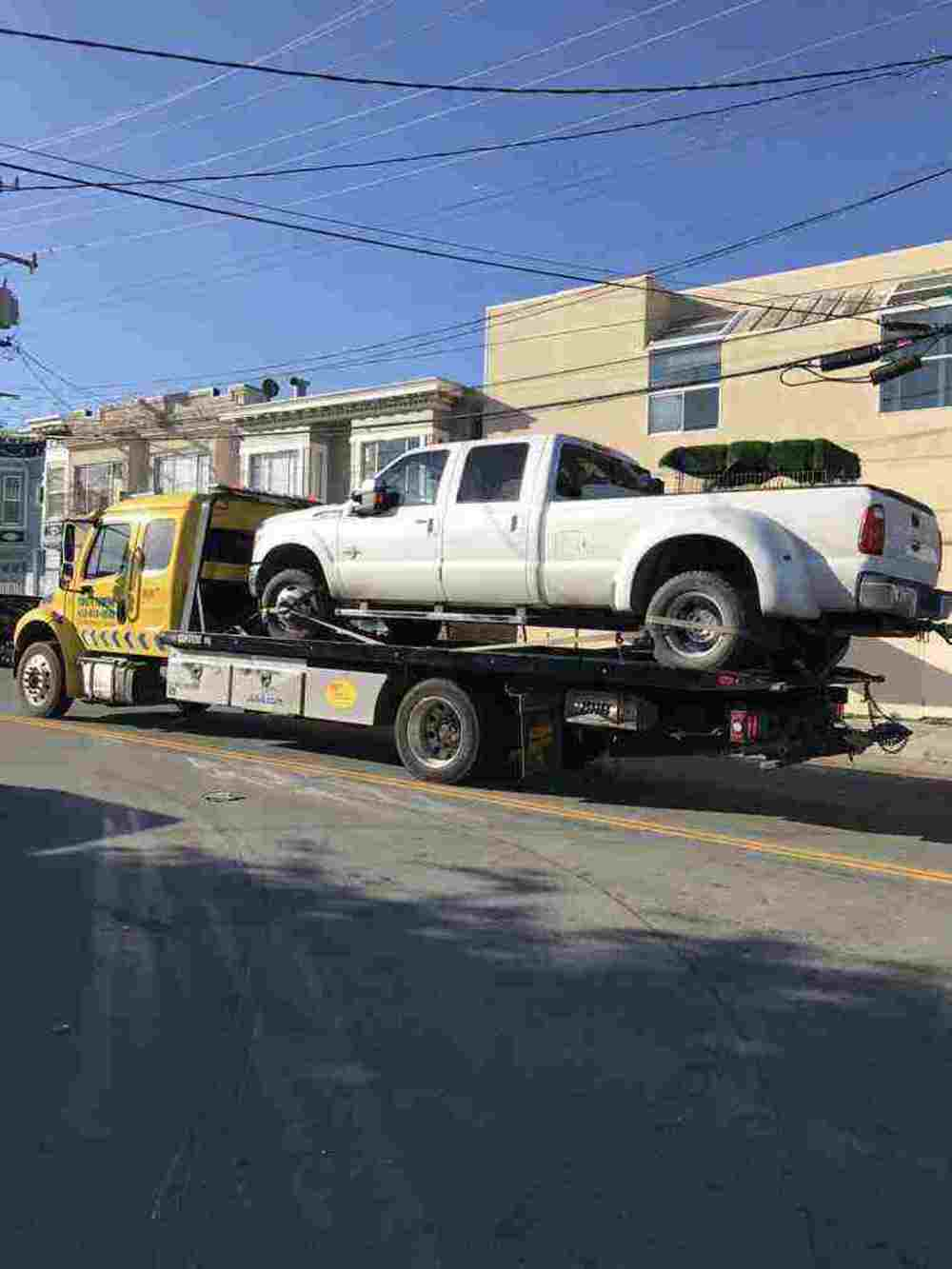towing service in Bayview San Francisco