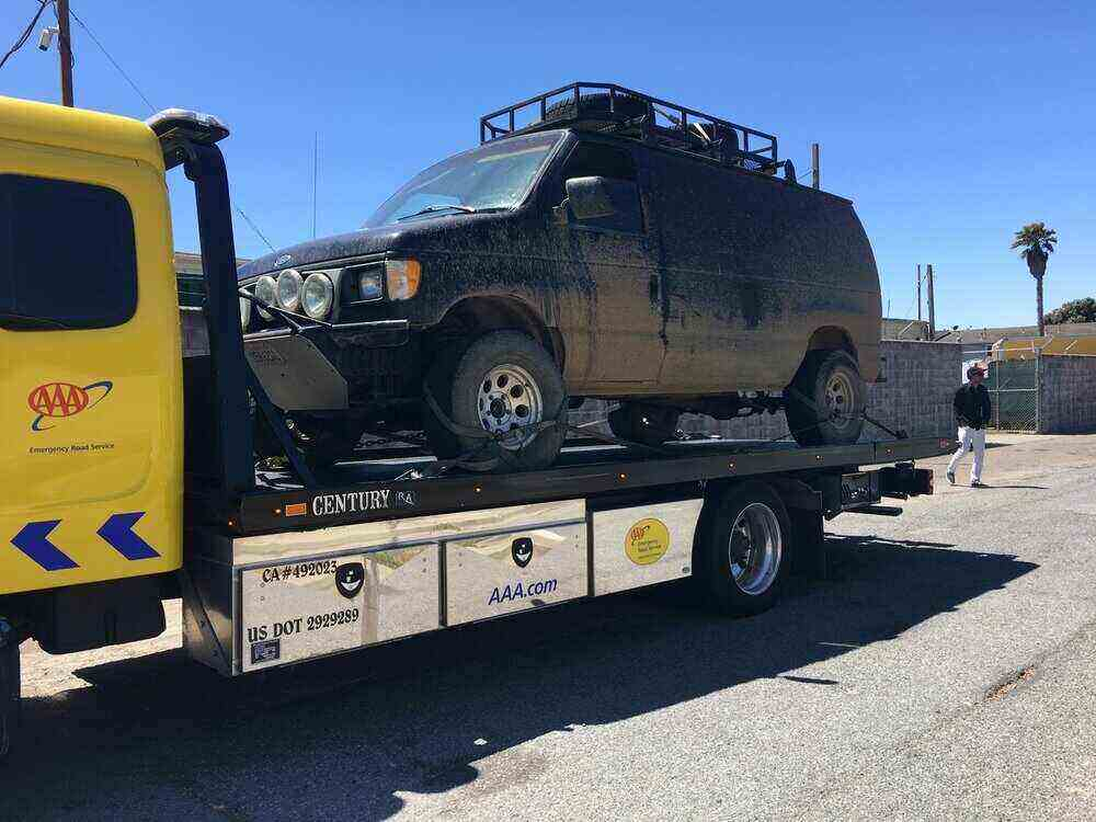 Towing service in Sunset District San Francisco